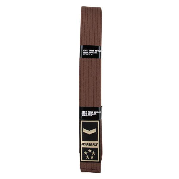 Hyperfly BJJ Belt Core brown