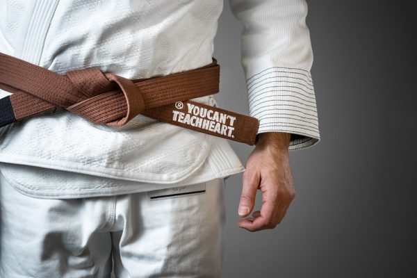 Hyperfly BJJ Belt YCTH Comp brown 2