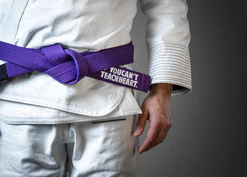 Hyperfly BJJ Belt YCTH Comp purple 2