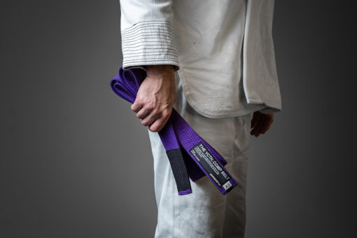 Hyperfly BJJ Belt YCTH Comp purple 3