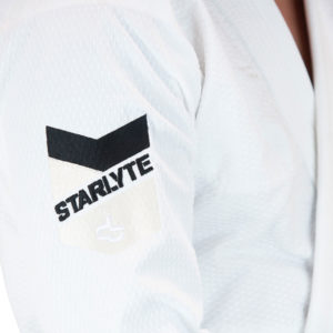 Hyperfly BJJ Gi Starlyte II white black 2