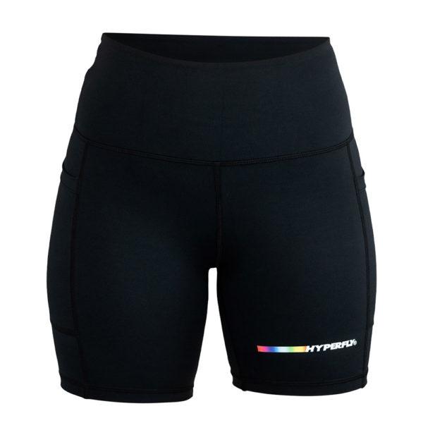 Hyperfly FlyGirl Athletic Shorts 2.0 black 1