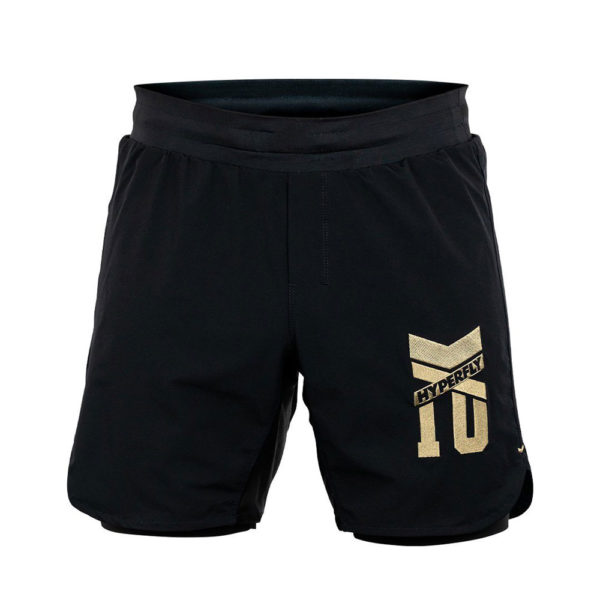 Hyperfly Grappling Shorts Icon black gold 1