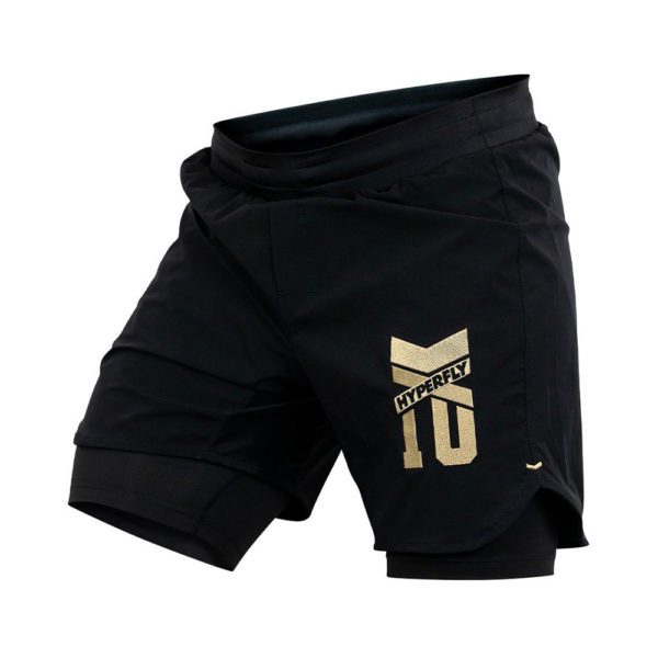 Hyperfly Grappling Shorts Icon black gold 4