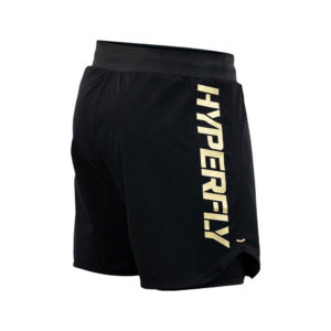 Hyperfly Grappling Shorts Icon black gold 5