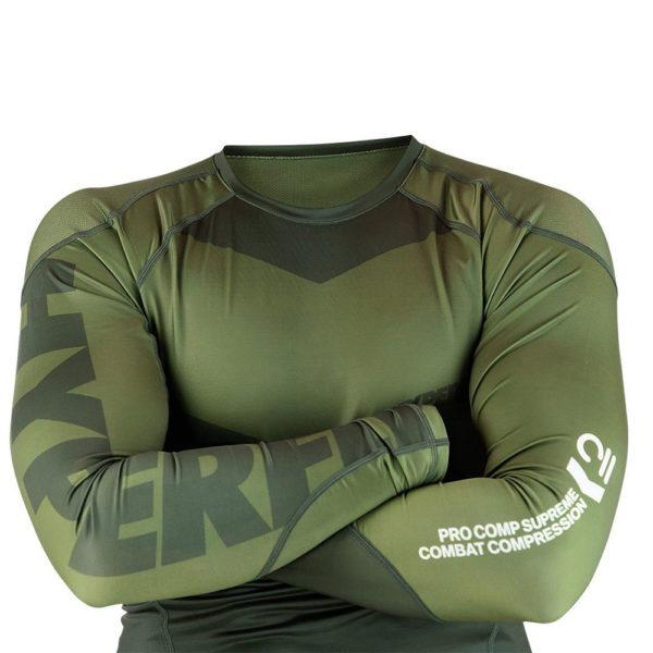Hyperfly Rashguard ProComp Supreme Long Sleeve olive 4