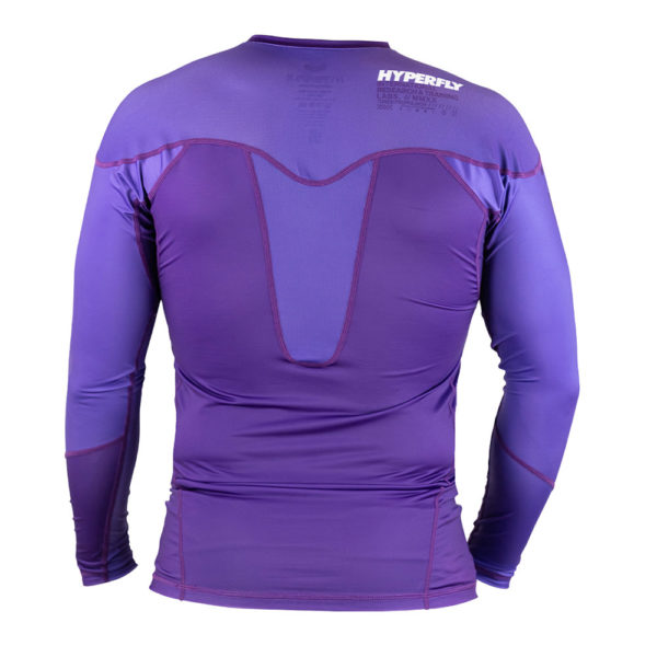 Hyperfly Rashguard ProComp Supreme Long Sleeve purple 4