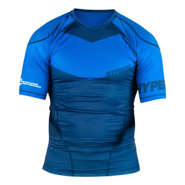 Hyperfly Rashguard ProComp Supreme Short Sleeve blue 1