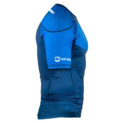 Hyperfly Rashguard ProComp Supreme Short Sleeve blue 2