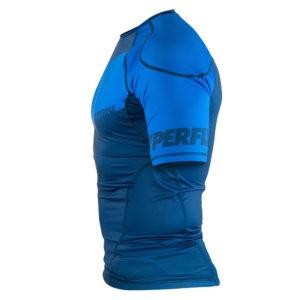 Hyperfly Rashguard ProComp Supreme Short Sleeve blue 3