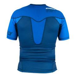Hyperfly Rashguard ProComp Supreme Short Sleeve blue 4