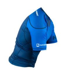Hyperfly Rashguard ProComp Supreme Short Sleeve blue 5