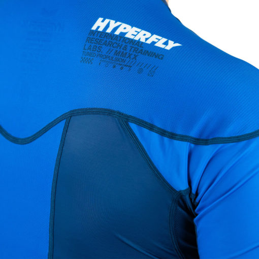 Hyperfly Rashguard ProComp Supreme Short Sleeve blue 6