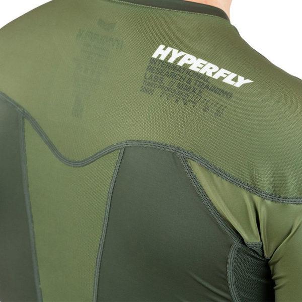 Hyperfly Rashguard ProComp Supreme Short Sleeve olive 5