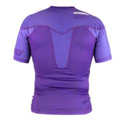 Hyperfly Rashguard ProComp Supreme Short Sleeve purple 3