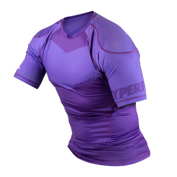 Hyperfly Rashguard ProComp Supreme Short Sleeve purple 5