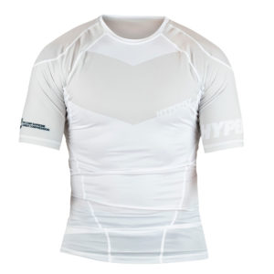 Hyperfly Rashguard ProComp Supreme Short Sleeve white 1