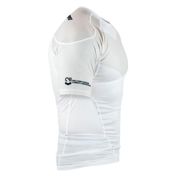 Hyperfly Rashguard ProComp Supreme Short Sleeve white 3