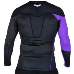 Hyperfly Rashguard Supreme Ranked II Long Sleeve lila 2