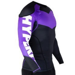 Hyperfly Rashguard Supreme Ranked II Long Sleeve lila 3