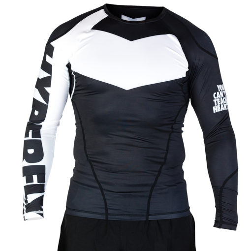 Hyperfly Rashguard Supreme Ranked II Long Sleeve vita 1