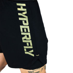 Hyperfly Shorts Icon black gold 10