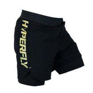 Hyperfly Shorts Icon black gold 5