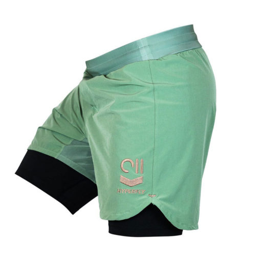 Hyperfly Shorts Icon sagegold 1