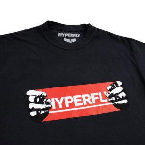 Hyperfly T shirts Hands svart 2