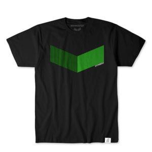 Hyperfly T-shirts Icon svart/neon