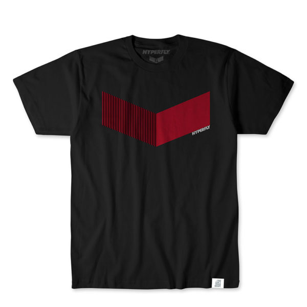 Hyperfly T-shirts Icon svart/röd