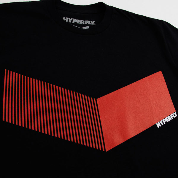 Hyperfly T shirts Icon black red 2