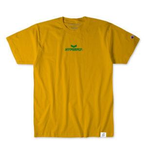Hyperfly T shirts Mantra Champion Edition guld 1