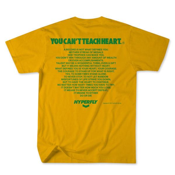 Hyperfly T shirts Mantra Champion Edition guld 2
