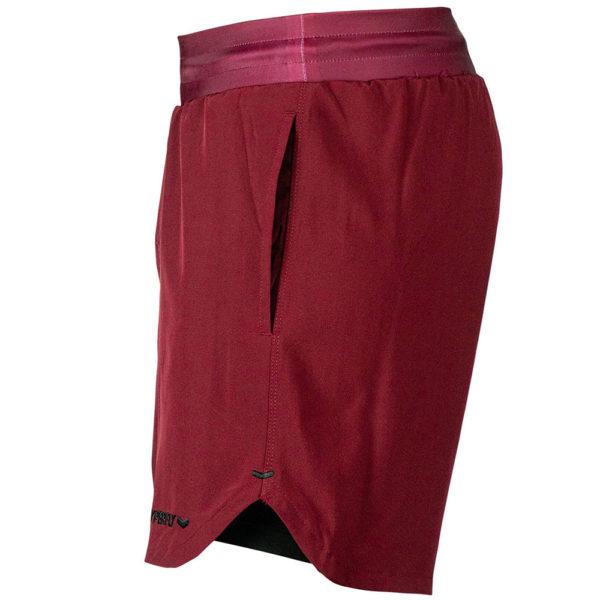 Hyperfly Training Shorts Icon burgundy 3