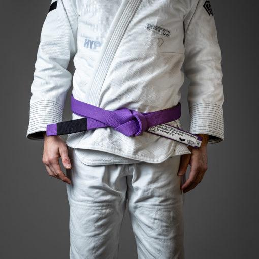 Hyperfly x Everyday Porrada BJJ Belt purple 1