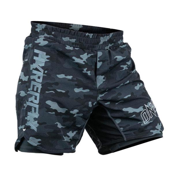 Hyperfly x One FC Shorts black camo 2