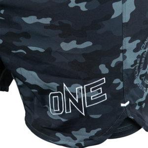 Hyperfly x One FC Shorts black camo 3