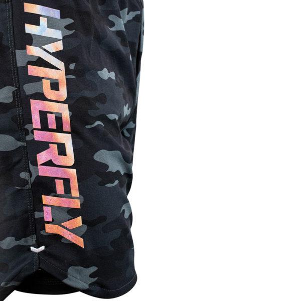 Hyperfly x One FC Shorts black camo 4