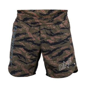 Hyperfly x One Icon Combat Shorts tiger camo