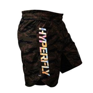 Hyperfly x One FC Shorts tiger camo 5