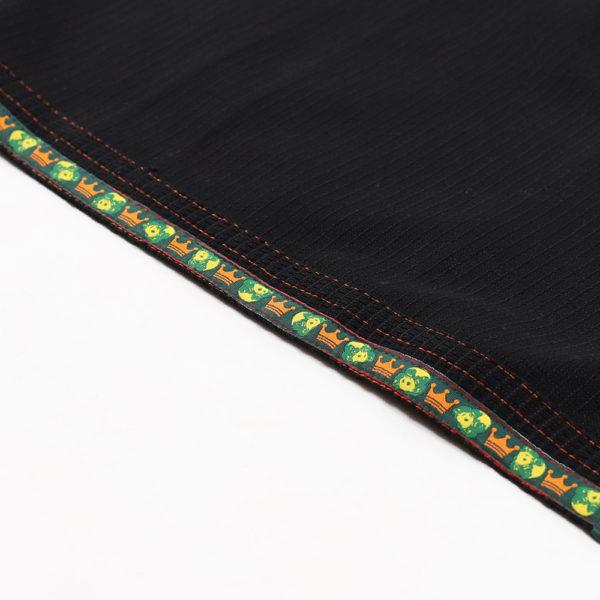 Inverted Gear BJJ Gi Gold Weave svart 4