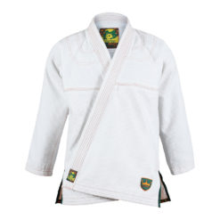 Inverted Gear BJJ Gi Gold Weave vit 1