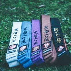 Kanji BJJ Balte Premium Embroidered 5