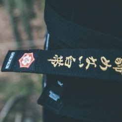 Kanji BJJ Balte Premium Embroidered svart 2