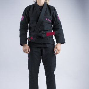 Kingz BJJ Gi Ladies Balistico 3.0 svart 1
