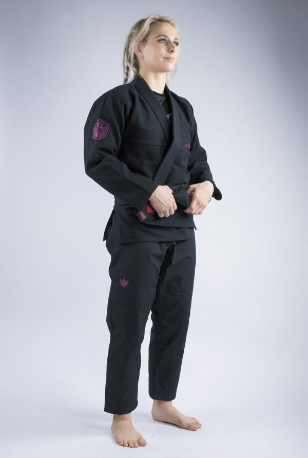 Kingz BJJ Gi Ladies Balistico 3.0 svart 2