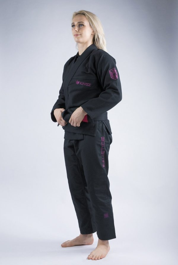 Kingz BJJ Gi Ladies Balistico 3.0 svart 3