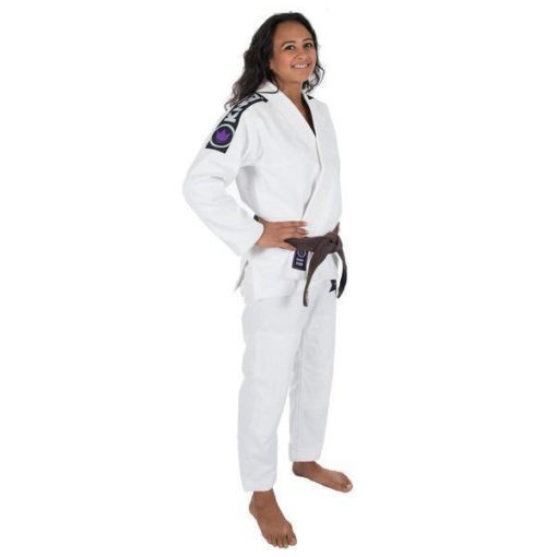 Kingz BJJ Gi Ladies Basic 2 0 vit 1