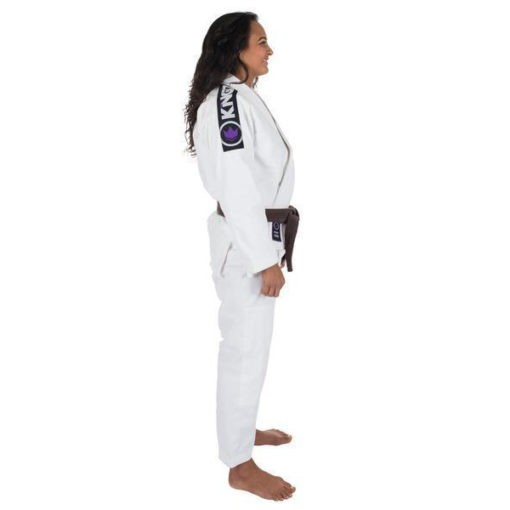 Kingz BJJ Gi Ladies Basic 2 0 vit 5